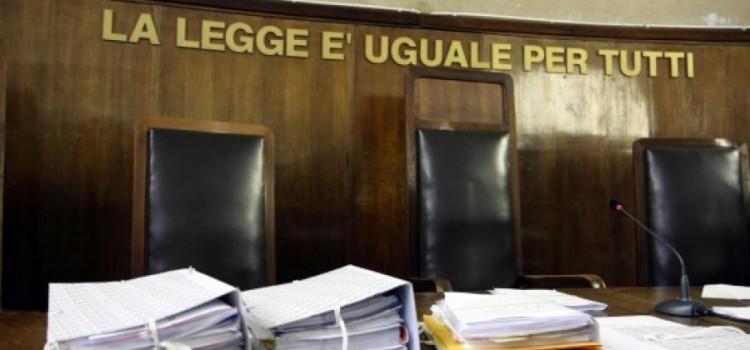 Giudizio abbreviato - aula Tribunale